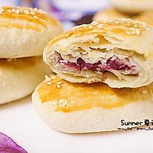 紫薯牛舌酥#花家味道#