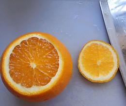 咳嗽偏方~盐蒸橙子的做法