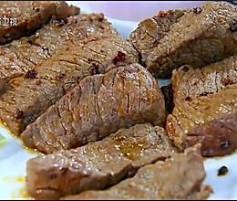 烤牛肉片的做法