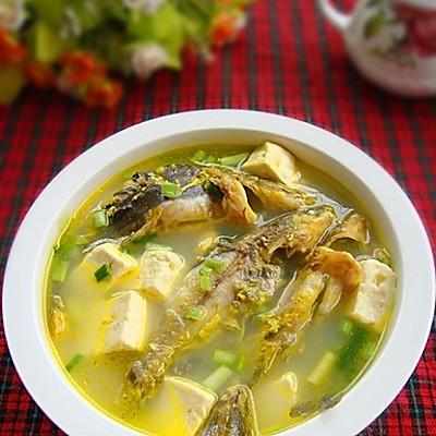 黄骨鱼豆腐汤
