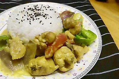 22【咖喱鸡饭】