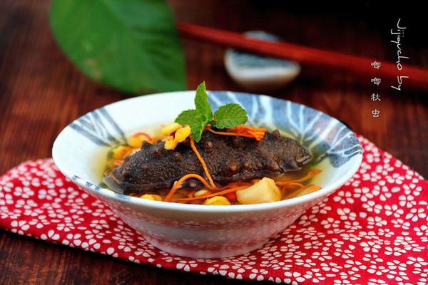 秋季滋阴补脾汤---瑶柱芡实海参汤的做法