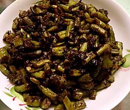 橄榄菜炒芸豆的做法