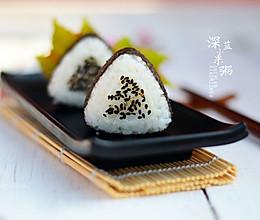 踏青食品——三角饭团#德国Miji爱心菜#的做法