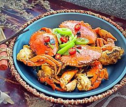 辣爆青蟹#金龙鱼外婆乡小榨菜籽油 最强家乡菜#的做法