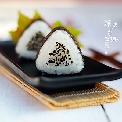 踏青食品——三角饭团