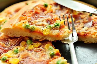 美式什锦香肠披萨