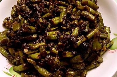 橄榄菜炒芸豆