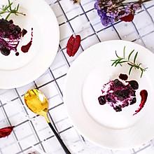 #炎夏消暑就吃「它」#蓝莓山药泥