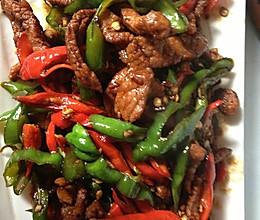 家乡菜---辣椒炒肉丝的做法