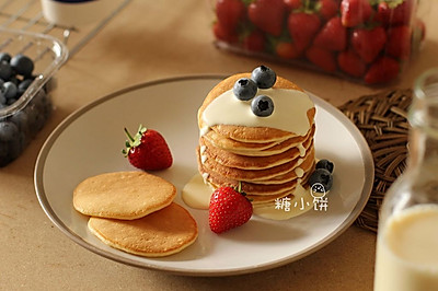 【奶油松餅pancake】