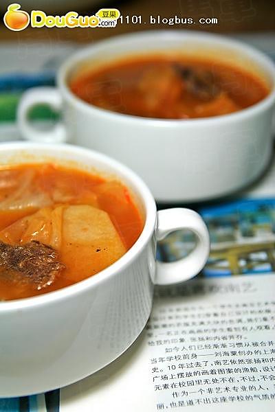 罗宋汤——豆果美食的做法