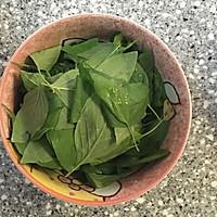【阳台罗勒香草养成记】自制青酱pesto的做法图解2