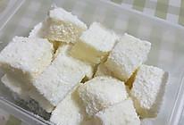 椰蓉牛奶小方   奶豆腐的做法