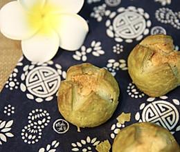 抹茶椰蓉开口酥的做法
