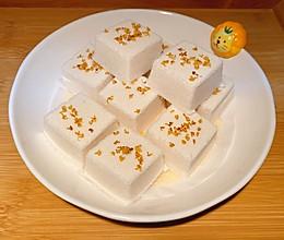 桂花豆沙小方糕的做法