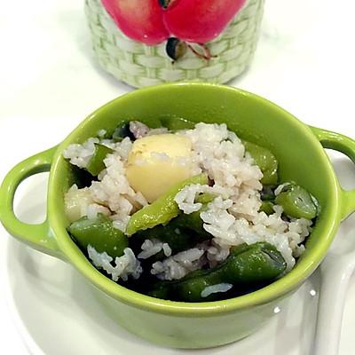 四季豆土豆焖饭