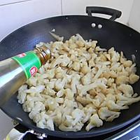 菁选酱油试用之——素炒菜花的做法图解4