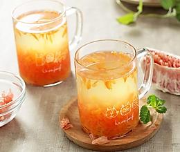 蜂蜜柚子茶~节后清肠宜喝茶的做法