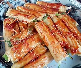 健康烤菜卷的做法