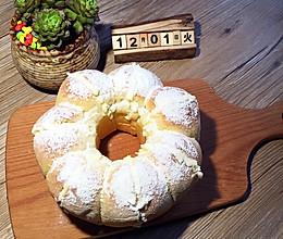 奶酪花朵包的做法