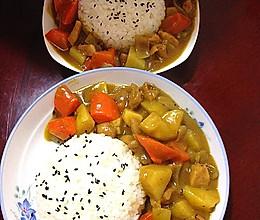 浓香咖喱鸡腿饭~寒冬也能瞬间温暖的做法