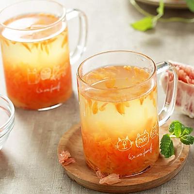 蜂蜜柚子茶~节后清肠宜喝茶