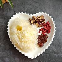 桃胶银耳汤#做道好菜,自我宠爱!#的做法图解1