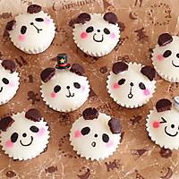 QQ软软熊猫宝宝蒸米糕,宝宝最爱营养早餐的做法图解13