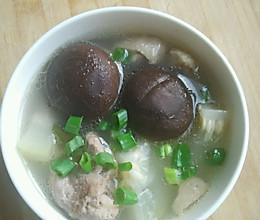 夏日汤-香菇冬瓜鸭子汤的做法