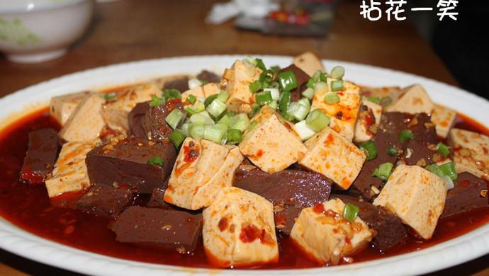 麻婆鸳鸯豆腐