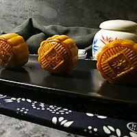 """广式莲蓉&豆沙蛋黄月饼#享""""美""""味#的做法图解23"""