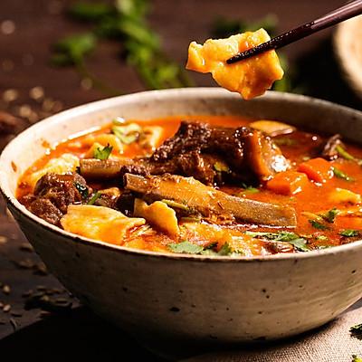 来自宁夏的汤面片,一碗管饱