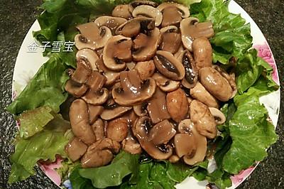 浓汁牛排菇
