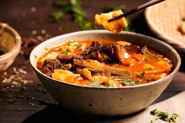 来自宁夏的汤面片,一碗管饱的做法