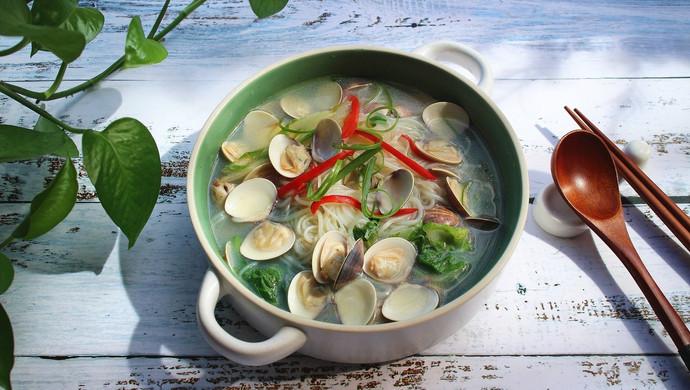 文蛤粉丝汤