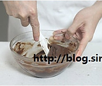 巧克力马卡龙的做法图解5