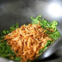 青椒炒肉丝的做法图解9