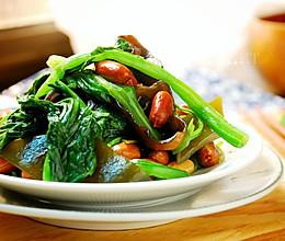 凉拌什锦菠菜的做法