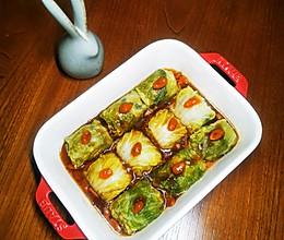 翡翠鲜肉卷~白菜与猪肉的完美结合的做法