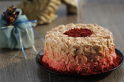 红丝绒蛋糕#九阳烘焙剧场#