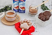 #安佳儿童创意料理# 爪爪巧克力冰棒的做法