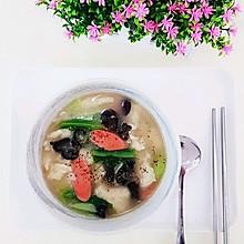 三鲜面疙瘩汤  小时候的味道