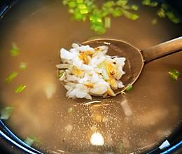 韩式清水锅巴汤的做法