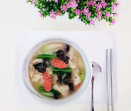 三鲜面疙瘩汤  小时候的味道的做法