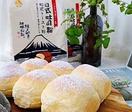 云朵般柔软的日式淡奶油小餐包
