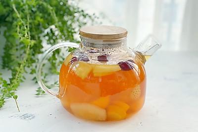 自制冬日热饮水果茶,酸甜好喝又解渴,暖胃又健康