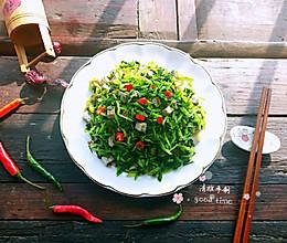 香菜拌臭豆腐的做法