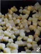 土豆焖饭的做法图解2