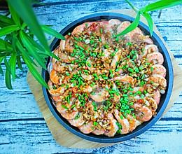 铁板蒜蓉虾的做法